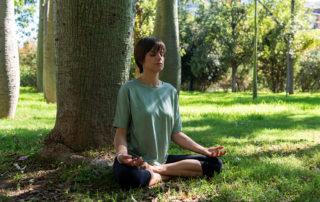Meditación río